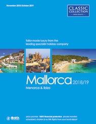 Mallorca 2018/19 brochure