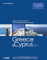 Greece and Cyprus 2019 brochure