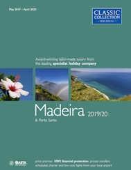 Madeira 2019/20 holiday brochure