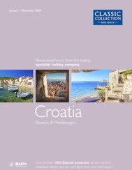 Croatia 2020 brochure