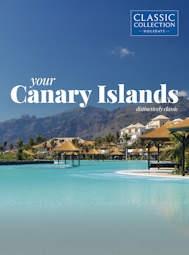 Canary islands brochure
