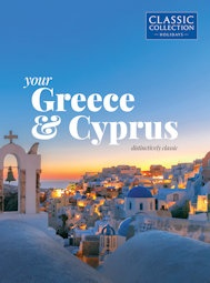 Your Greece & Cyprus brochure cover