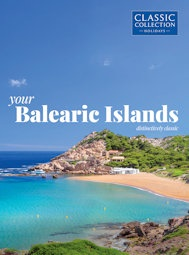 Your Balearic Islands brochure cover