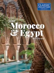 Morocco and Egypt 2020/21 brochure