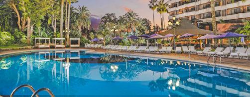 Hotel Botanico, pool & exterior