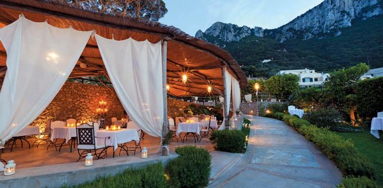 Villa Marina Capri Hotel & Spa, Terrace