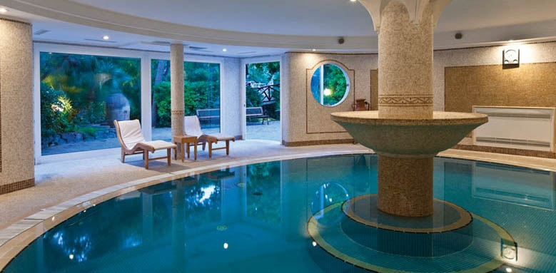 Grand Hotel Excelsior Terme, indoor pool
