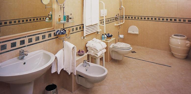 Santa Chiara, bathroom annex