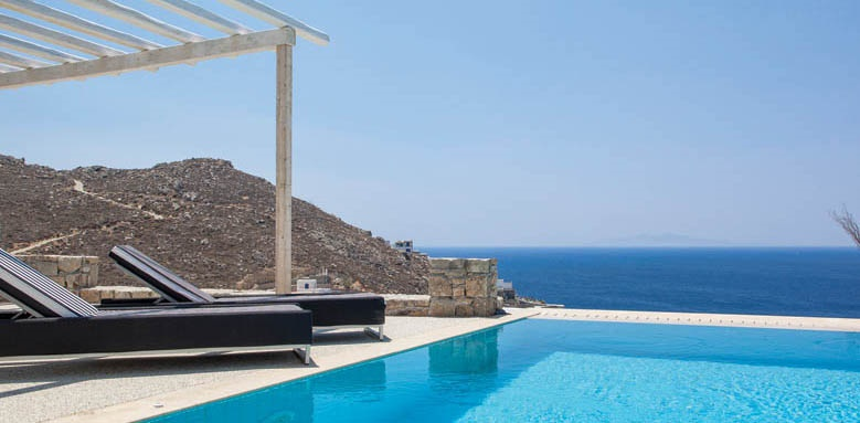 Myconian Villas, villas pool