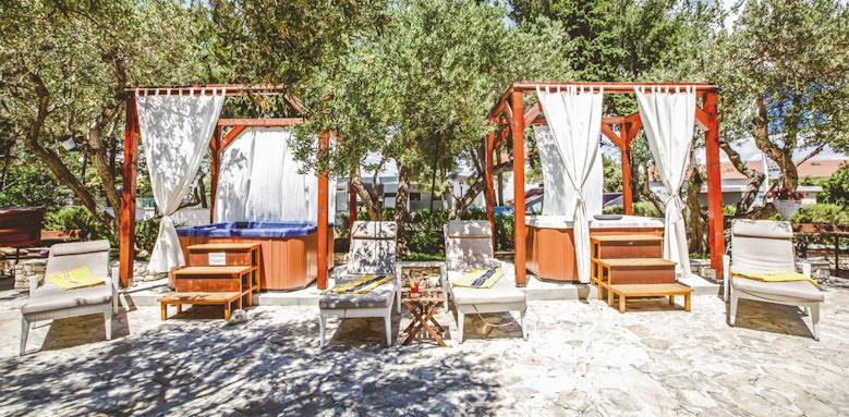villa adriatica, jacuzzi terrace