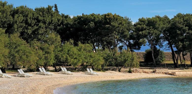 villa adriatica, beach