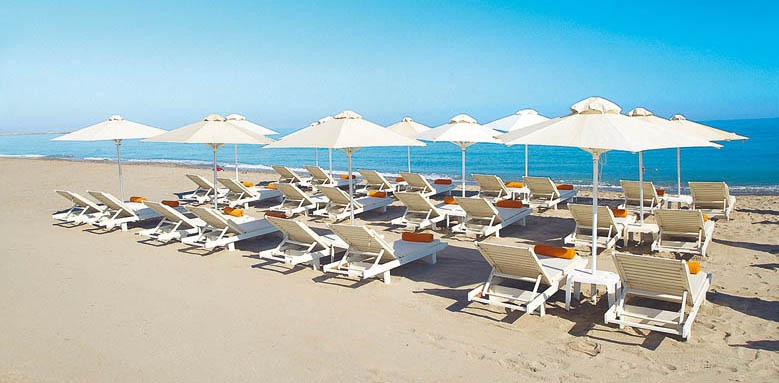 Grecotel Plaza Spa Apartments, Beach