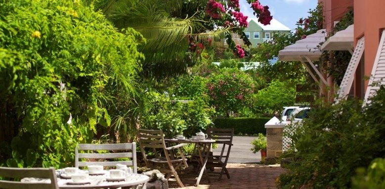 Royal Palms Hotel, terrace