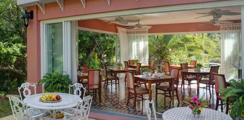 Royal Palms Hotel, breakfast