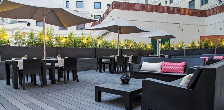 Hotel Portugal, terrace