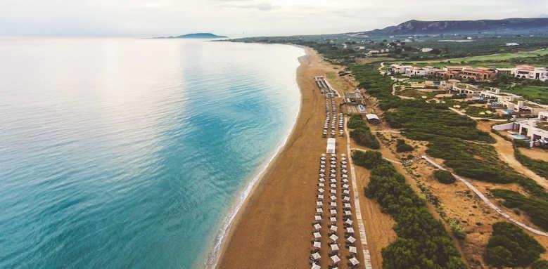 The Romanos Resort, Aerial view