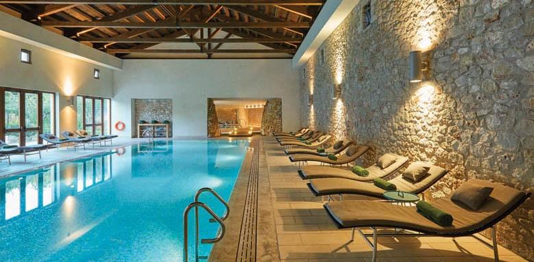 The Romanos Resort, indoor pool