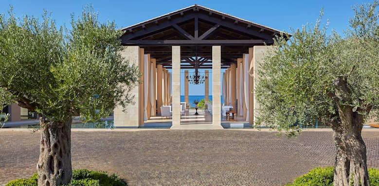 The Romanos Resort, lobby area