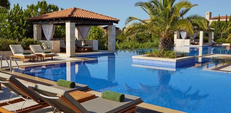 The Romanos Resort, pool area
