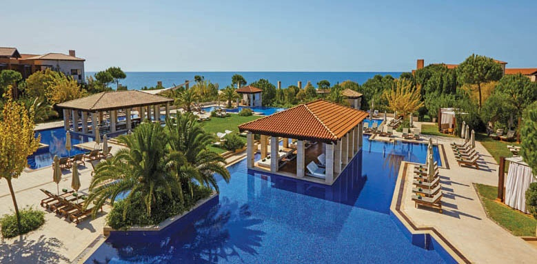 The Romanos Resort, pool view