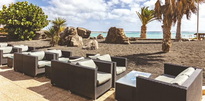 Barcelo teguise beach, beach terrace