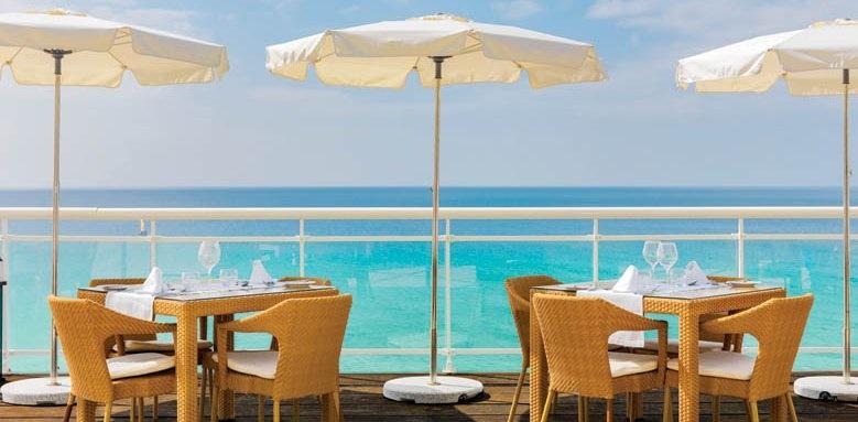 XQ El Palacete, Cafe Terrace