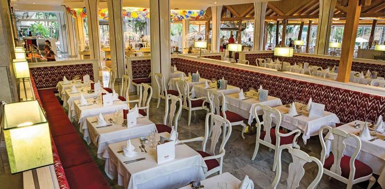 Costa Canaria, Restaurant