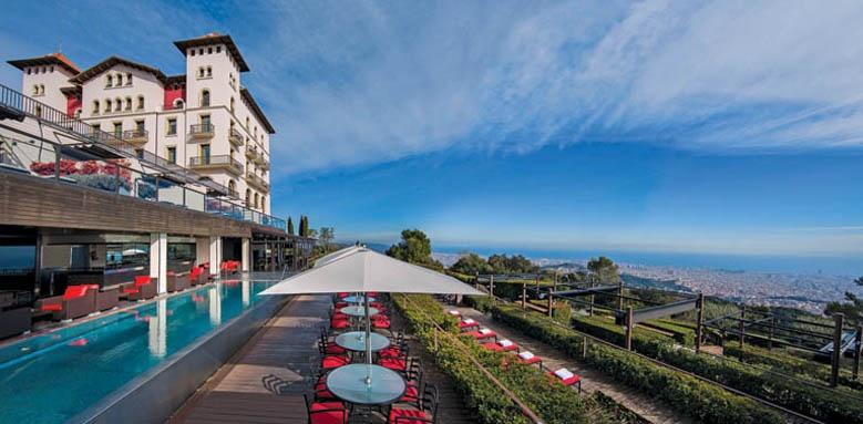Gran hotel La Florida, exterior