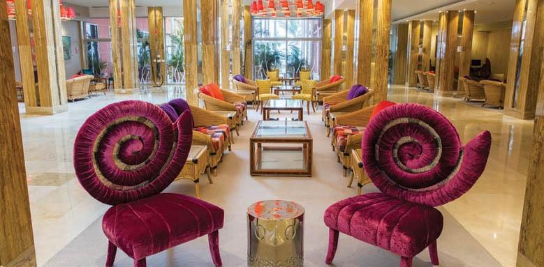 Hotel Reina Isabel, lobby lounge