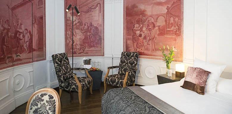 Hospes Palacio del Bailio, deluxe suite interior
