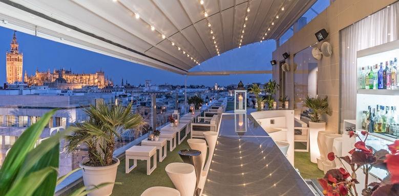 Hotel Inglaterra, la terraza