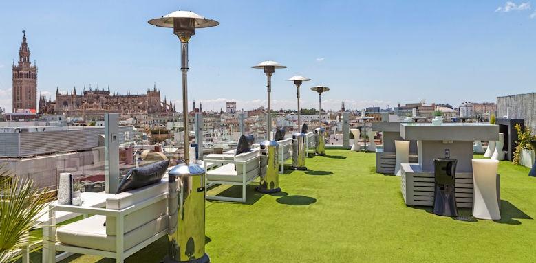 Hotel Inglaterra, roof terrace