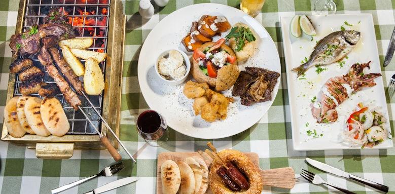 st raphael resort, cuisine