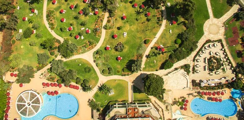 st raphael resort, aerial view