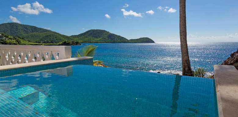 Curtain Bluff, Room Pool