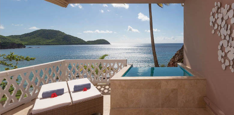 Curtain Bluff, Room Terrace