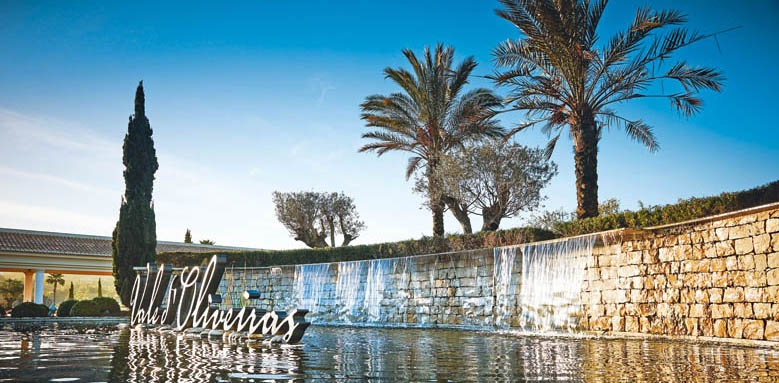 Vale d'Oliveiras Quinta Resort & Spa, waterfall