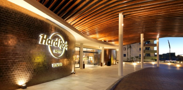 Hard Rock Hotel Tenerife, Entrance