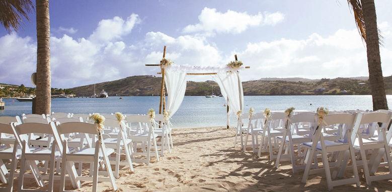 St James Club & Villas, wedding set up