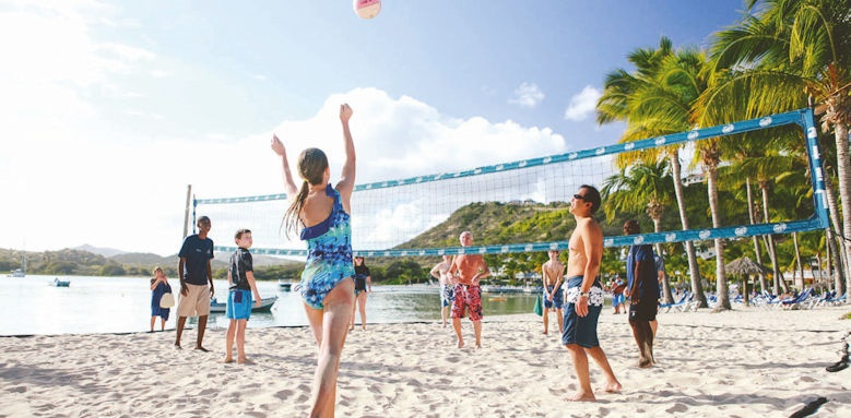 St James Club & Villas, beach volleyball