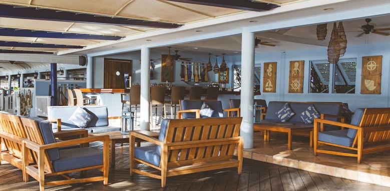 St James Club & Villas, dockside bar