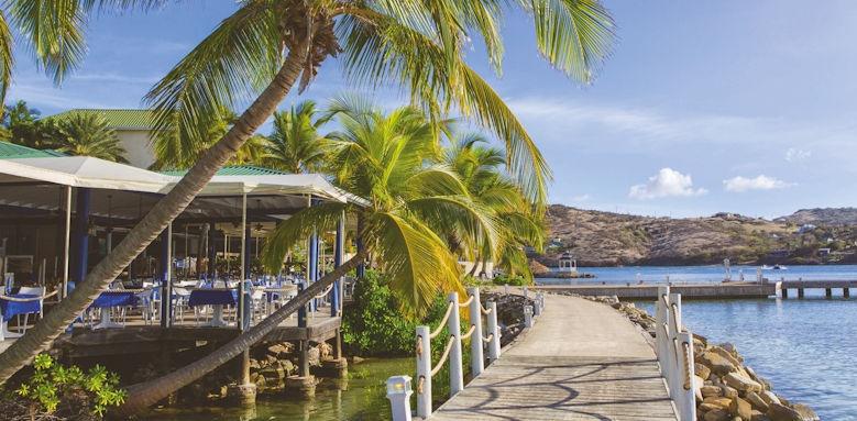 St James Club & Villas, docksider restaurant