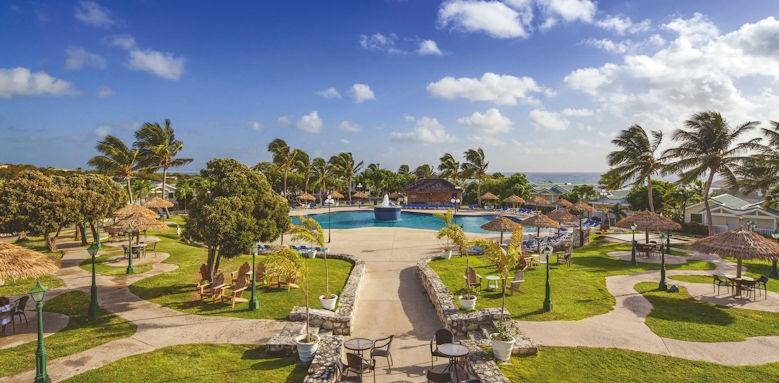 Verandah Resort, main pools and gardens