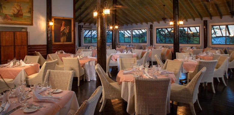 Verandah resort and spa, bucaneer restaurant