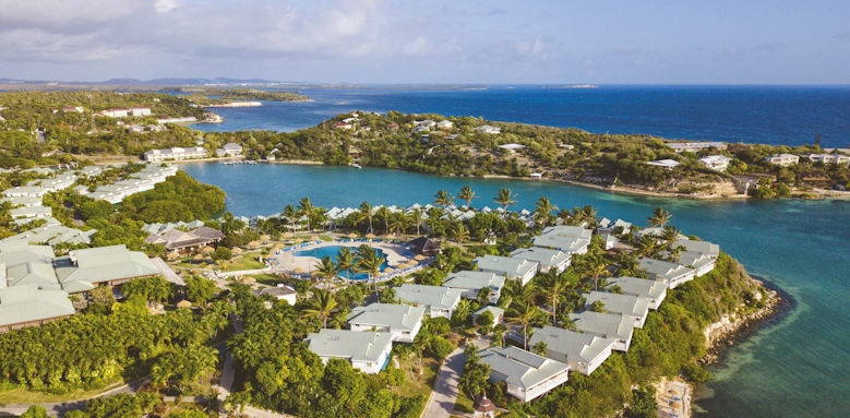 Verandah Resort, aerial view