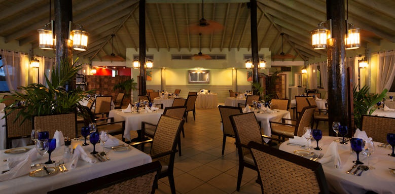 Verandah resort and spa, nicoles restaurant