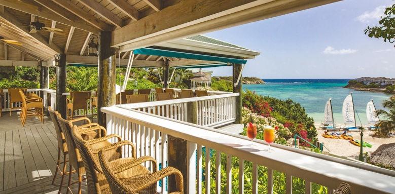 Verandah Resort, beach, bar grill
