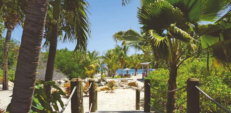 Verandah Resort, garden beach