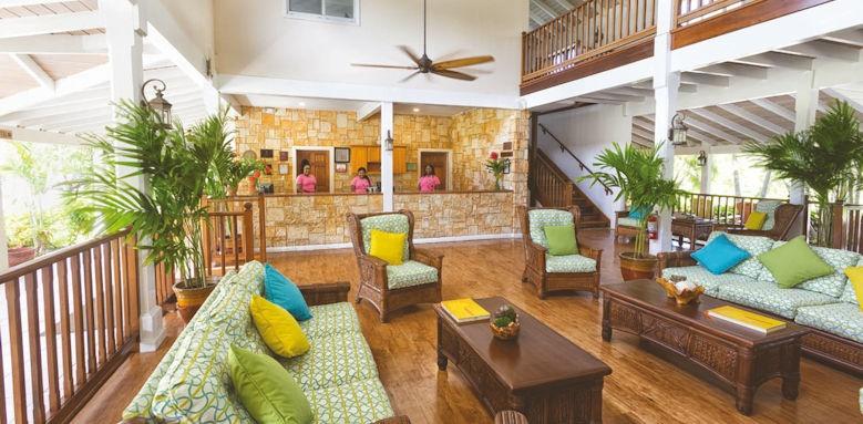 Verandah Resort, lobby
