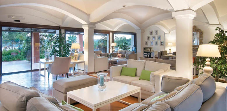 Hotel Le Ginestre, lounge